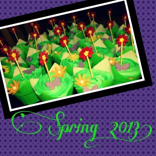 Spring 2013 cupcakes