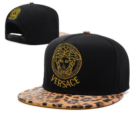 Cheap Wholesale Versace Snapback Hats Black Leopard Brim 022 for slae at  US 8.90  snapbackhats cee97082e481