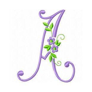 Free Embroidery Machine Design Monogram 73-A | Gosia Design