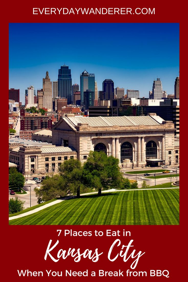 Although Kansas City's barbeque is the best in the world, sometimes you need a break from smoked meat. Here's where to eat in Kansas City when you're looking for something that doesn't feature its award-winning barbeque. #KansasCity #MWTravel #VisitKC #HowWeDoKC #BBQ #EatLocal