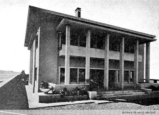 Seyfi Arkan'ın Tasarımı Salih Bozok Villası