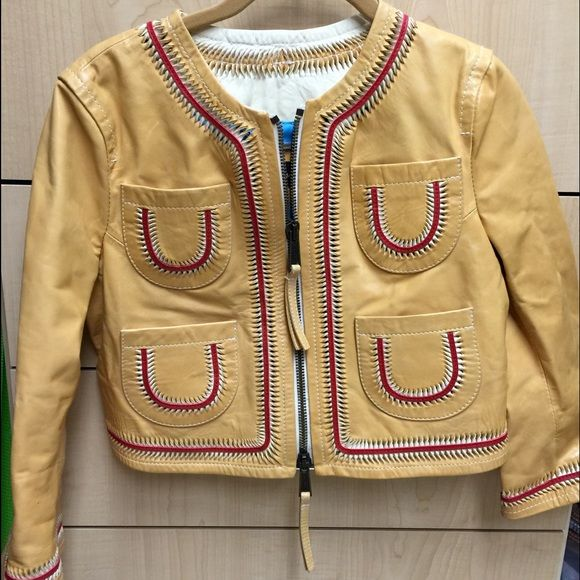 Dsquared Leather Jacket size 40 Absolutely beautiful: original Dsquared leather jacket - unique - excellent condition. Size 40. Dsquared Jackets & Coats
