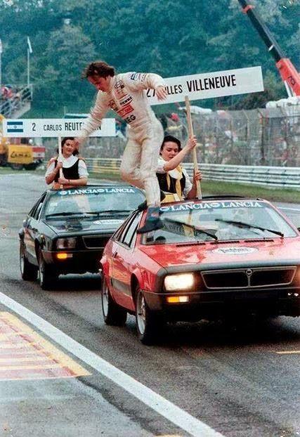 1981, Gilles Villeneuve, GP de San Marino, Ímola _Safety_First