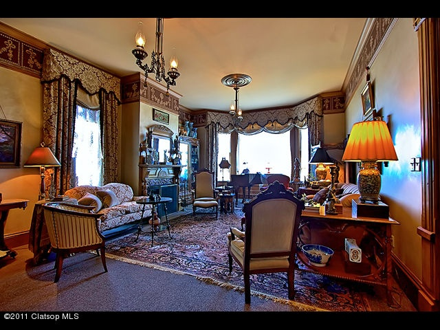 Victorian Parlor in our neck of the woods - Astoria, Oregon
