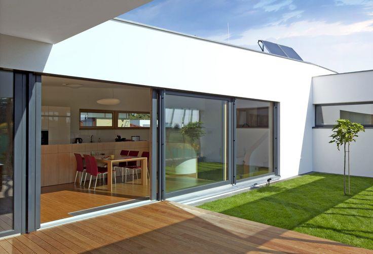 Okna drewniano-aluminiowe