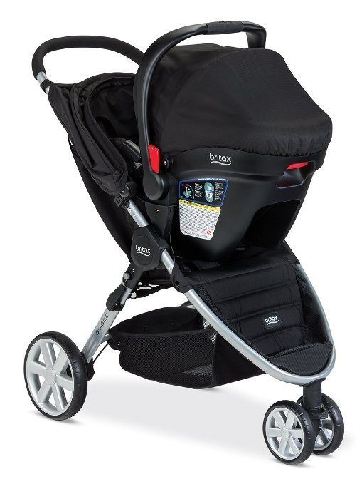 how to break down an evenflo stroller