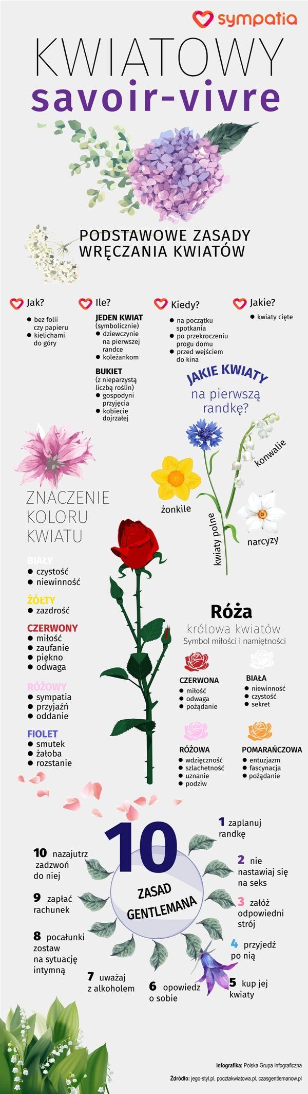 Kwiaty na randce