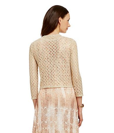 Gold Lace Cardigan_Other dresses_dressesss