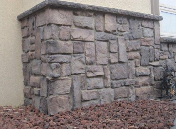 Villa Stone / Color: Almond Buff manufactured stone veneer from Kodiak Mountain Stone