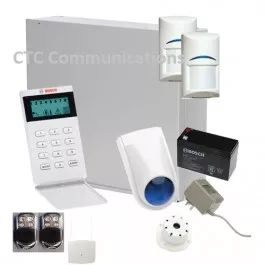 Bosch Solution 3000 Alarm System with 2 x Wireless Tritech detectors+ Icon Code…