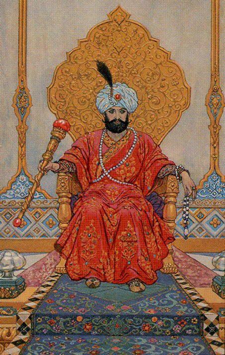 The Emperor - Tarot of the 1001 Nights