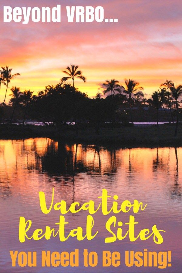 Looking for a vacation rental for your next family or multigenerational trip? Go beyond VRBO with these lesser known vacation rental sites that you may not know about... but should!