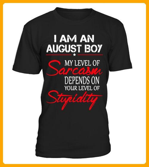 I AM AN AUGUST BOY - Shirts für zwillinge (*Partner-Link)