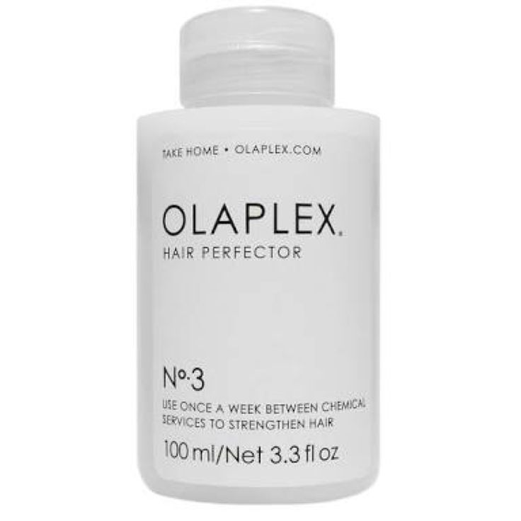 Olaplex No. 3 Bond Perfector  — The No.3 Bond Perfector is designed for at-home use. If build-up is present (such as oils or silicones), shampoo and towel dry before application for best results. Apply a generous amount to towel-dried hair and comb through. Leave on for a minimum of 10 minutes