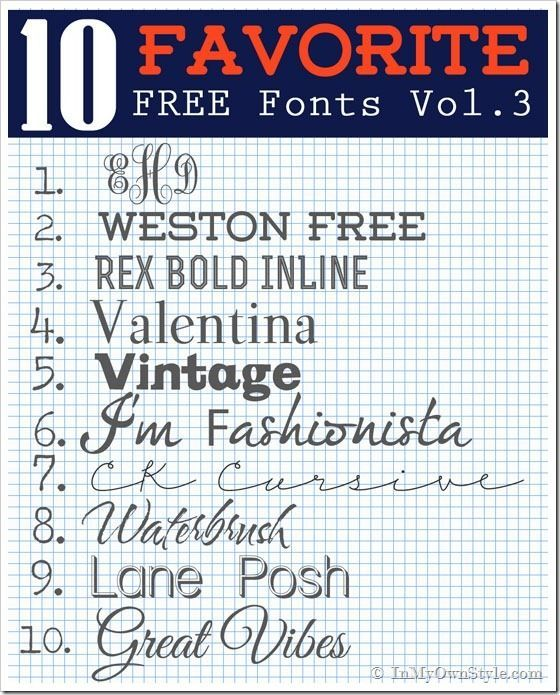 1000+ images about Free Fonts on Pinterest   Free handwriting ...