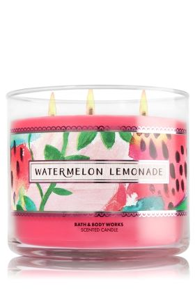 Watermelon Lemonade - 3-Wick Candle - Bath & Body Works - The Perfect 3-Wick Candle!