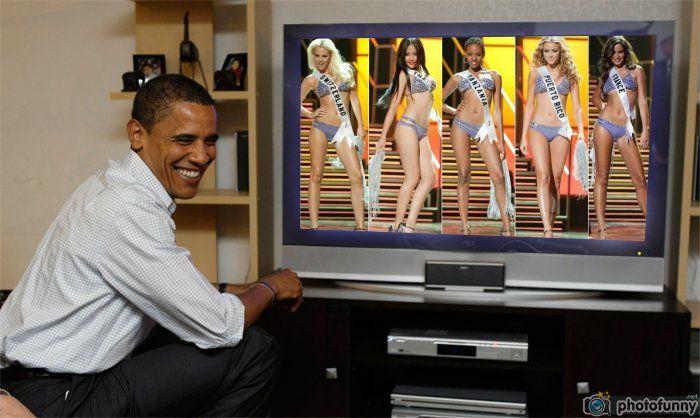 Miss Universo 2010 candidatas en vivo Obama