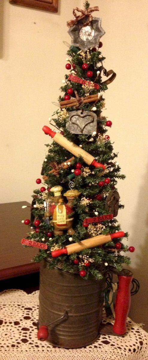 30 Rustic And Vintage Christmas Tree Decor Ideas (9 Craft trees
