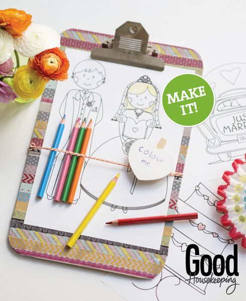 Make it: Clever colouring in Clipboards