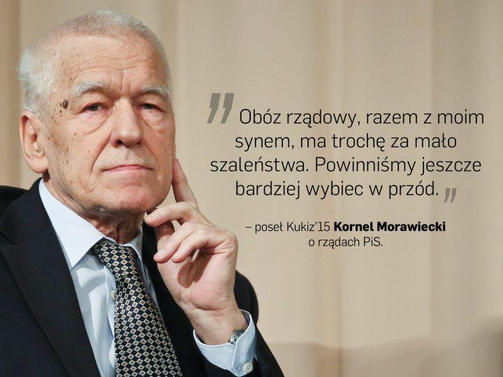 """Piękne: ,,zanim się odezwie, niech najpierw nawiąże kontakt z rozumem"""" /Maria Czubaszek o Kornelu Morawieckim/"""