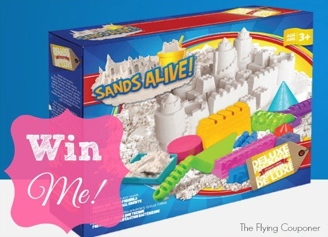 Sands Alive! is the perfect Christmas gift for boys and girls. Sands Alive! Holiday Giveaway 2014 | The Flying Couponer. Canada only. Ends: 12/3/2014. For more giveaways visit www.theflyingcouponer.com