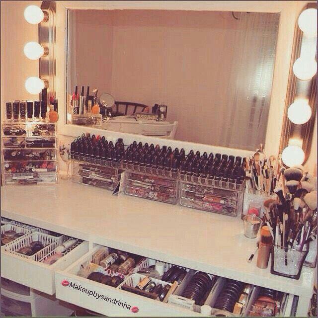 405 besten makeup room bilder auf pinterest make up. Black Bedroom Furniture Sets. Home Design Ideas