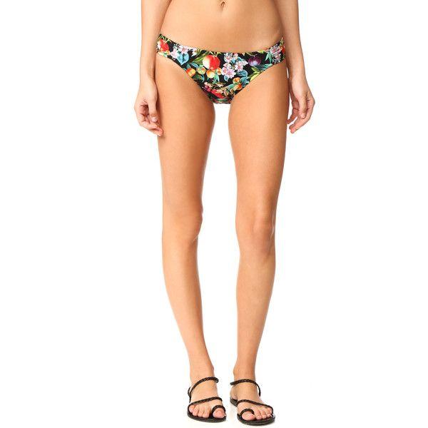 Nanette Lepore Amor Atitlan Siren Bikini Bottoms ($72) ❤ liked on Polyvore featuring swimwear, bikinis, bikini bottoms, multi color bikini, multicolor bikini, bottom bikini, nanette lepore bikini and swim bikini bottoms
