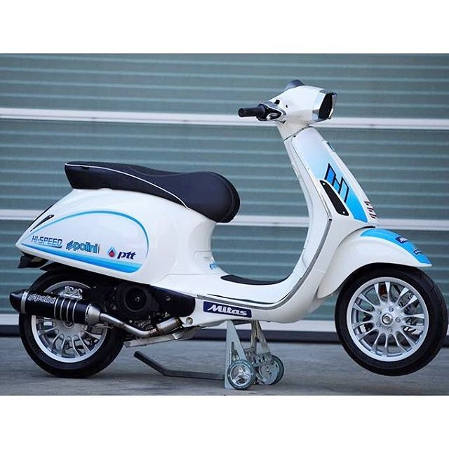 scooter piaggio racing polini on Instagram
