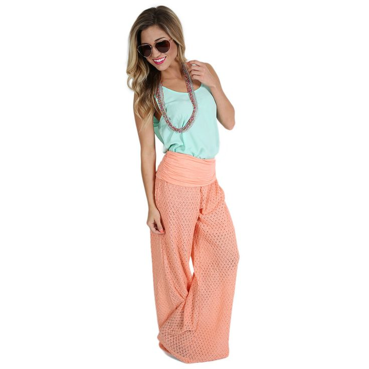 Perfect In Peach Pants