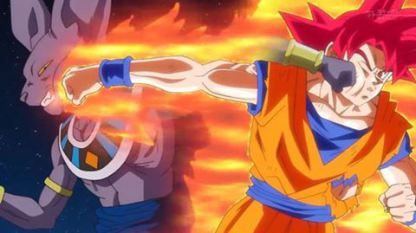 Dragon Ball Super 13, Goku pierde la transformacion de Super saiyan dios