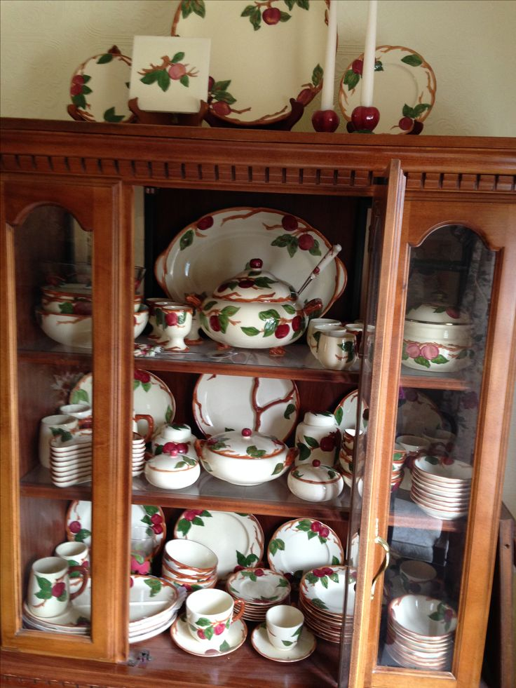 Franciscan Apple Dinnerware & 147 best Franciscan Apple images on Pinterest | Apple Apples and ...