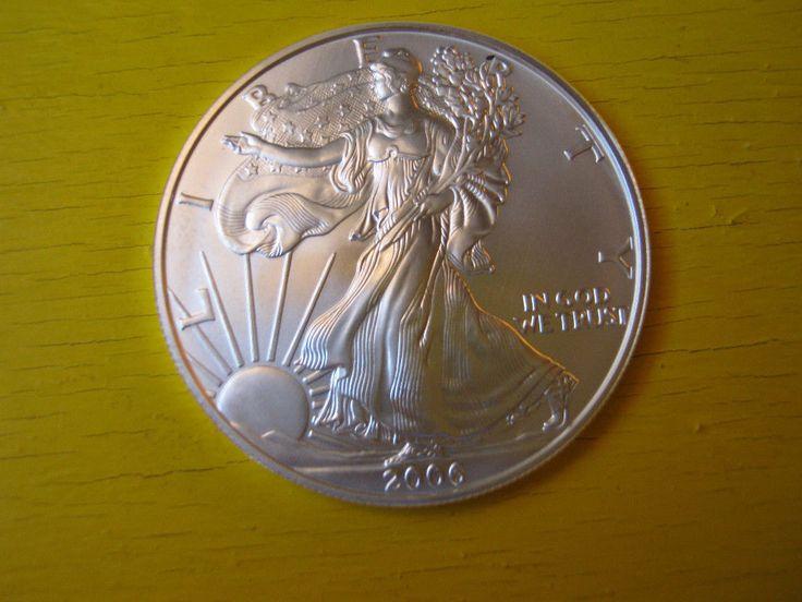 american eagle dollar 1 oz. fine silver 2006 uncirculated | eBay