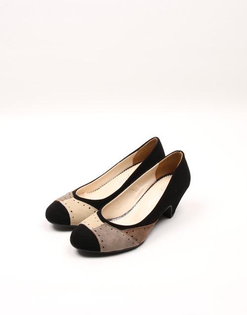 Taymir Siyah Bayan Ayakkabısı