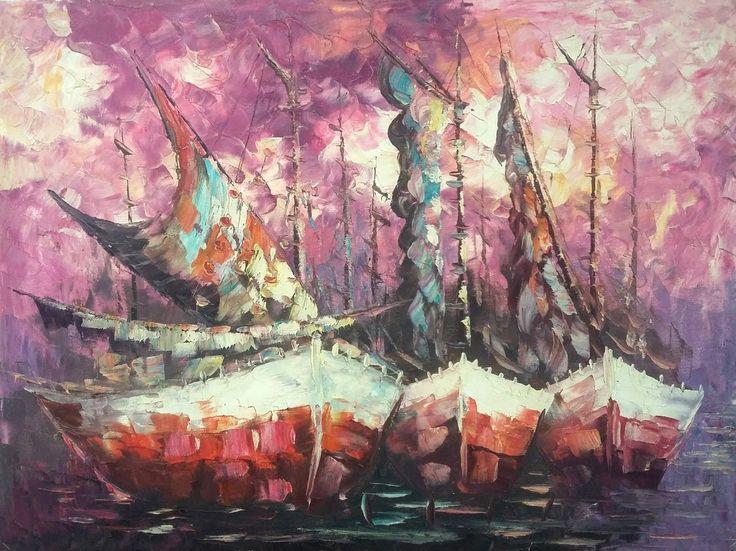 Jual lukisan kanvas murah minat hub. Wa.085727320879