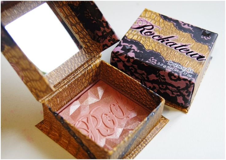 Benefit Rockateur Blush- I'm not a big blush fan, but this is nice and natural with a little shimmer