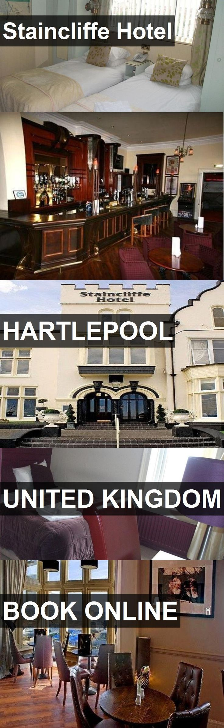 Hotel Staincliffe Hotel in Hartlepool, United Kingdom. For more information, photos, reviews and best prices please follow the link. #UnitedKingdom #Hartlepool #StaincliffeHotel #hotel #travel #vacation