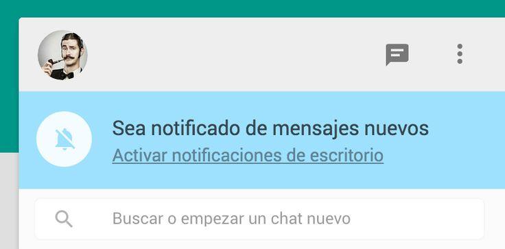 WhatsApp FAQ - ¿Cómo recibo notificaciones en WhatsApp Web?