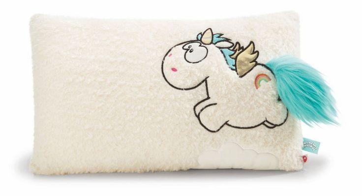 Nici Plush Pillow Unicorn with Wings Pegasus Rainbow Flair  | eBay