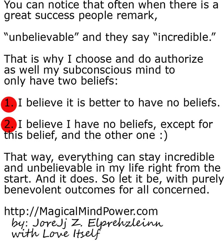 the incredible and mysterious power of unbelievable