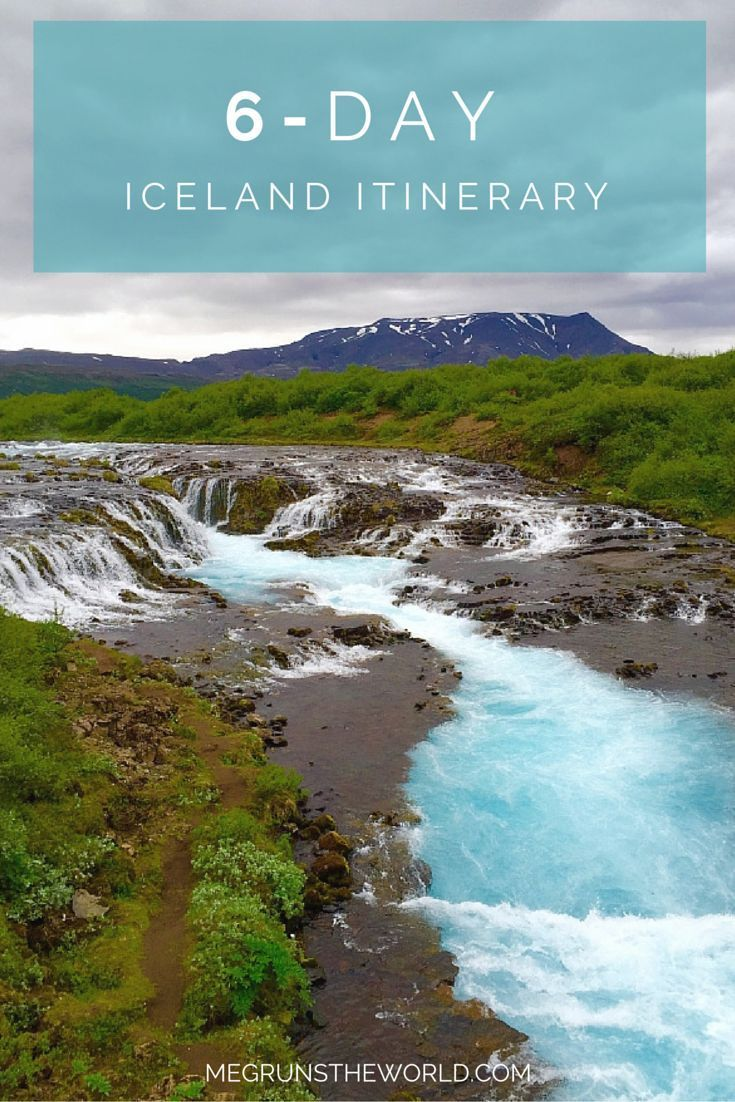 6-day itinerary for Iceland