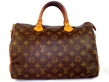 Louis Vuitton Speedy 30 Brown Satchel. Save 75% on the Louis Vuitton Speedy 30 Brown Satchel! This satchel is a top 10 member favorite on Tradesy. See how much you can save