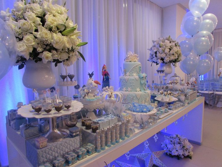 mesa-festa-infantil frozen2