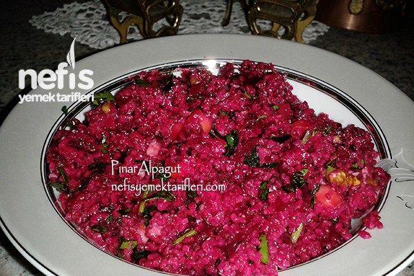 Kırmızı Pancar Salatası Tarifi Nasıl Yapılır 815 Kişinin Defterindeki Bu Tarifin Resimli Anlatımı Ve Deneyenle Pancar Salatası Tarifleri Pancar Salatası Yemek