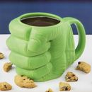 Hulk Shaped Mug - Green PP2985MA The Hulk Shaped Mug has been inspired by the Marvel Comics iconic character, the Incredible Hulk. Formed in the shape of his very angry, very large green fist, you can be sure that no one will dare st http://www.MightGet.com/january-2017-11/hulk-shaped-mug--green-pp2985ma.asp