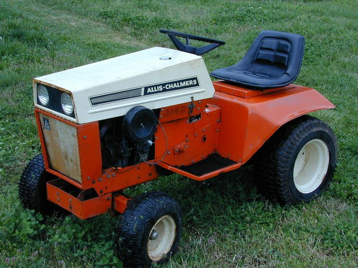 Allis Chalmers Garden Tractors : Best images about lawn garden tractors on pinterest
