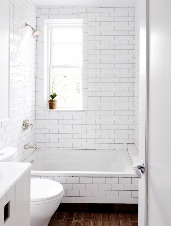 Small bath - 16 examples of bathroom with space for a small tub - Comfortable home