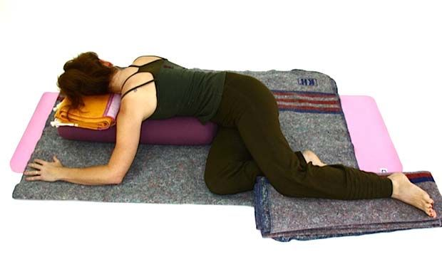 10 Restorative Poses Sequence. If you haven't tried restorative yoga you should!