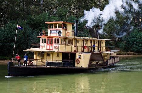 """EmmyLou"" Paddle Steamer, Echuca,Victoria"