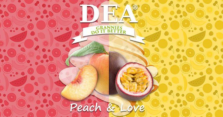 Aroma Peach & Love di Granny Rita: pesca e frutto della pasisone con melone, custard e bourbon vaniglia #aromiDEA