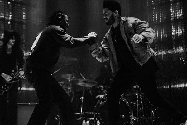 "Watch The Weeknd & Kendrick Lamar Perform ""Sidewalks"" | Nah Right"